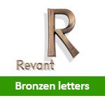 Bronzen letters