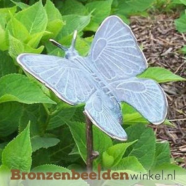 bronzen vlinder, beeld vlinder