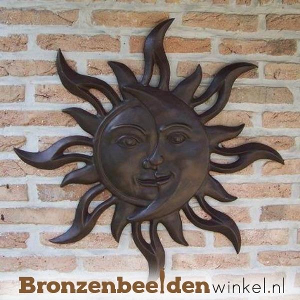 bronzen wandecoratie