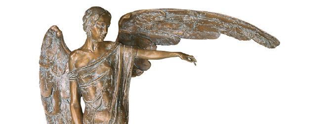 beeld engel, engelen beelden, beeld van een engel