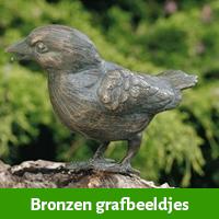 Bronzen Grafbeeldjes als grafdecoratie