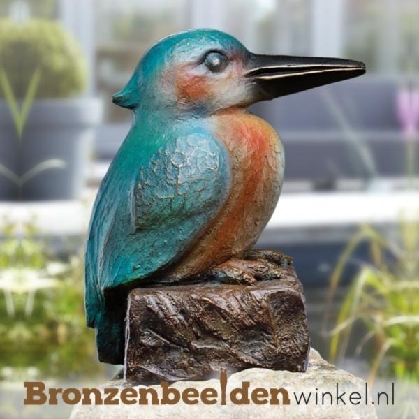 ijsvogel brons, ijsvogel beeldje