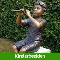 Kinderbeelden voor in uw tuin