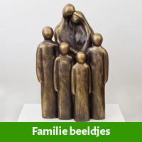 Kleine beeldjes familie