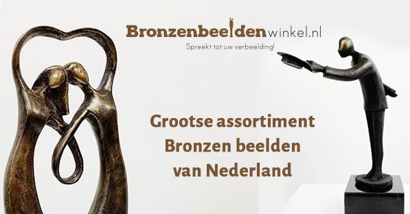 Kunst kopen Zwolle bij bronzen beelden winkel