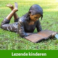 lezende jongens, lezende meisjes
