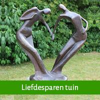 Liefdesparen als huwelijkscadeau tuin
