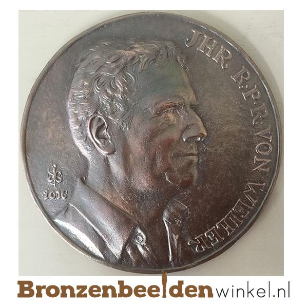 plaquette maken - plaat brons