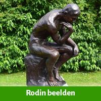 rodin beelden als tuinsculptuur