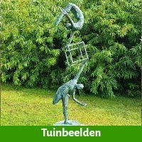 Tuinbeeld als jubileum kado