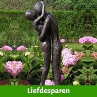 Tuinbeeld liefde
