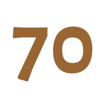 Verjaardagscadeau 70 jaar