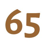 Verjaardagscadeau 65 jaar