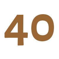 Verjaardagscadeau vrouw 40 jaar
