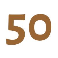 Verjaardagscadeau vrouw 50 jaar