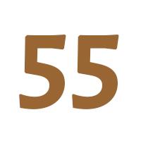 Verjaardagscadeau vrouw 55 jaar