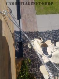 Schaduwdoek / Camonet  Wit 3 X 3 meter