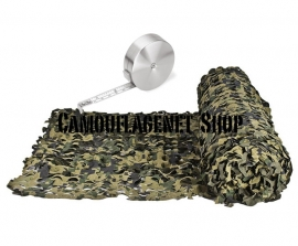 Camouflagenet 3 X 2,4 meter Dig. Woodland Ultra Light