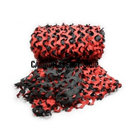 Camouflagenet 3 X 2,4 meter Red Hot LW03*