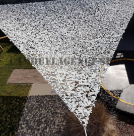 Legernet Driehoek Snow 3 X 3 X 3 meter TRSN303030