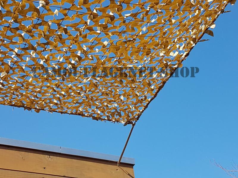 Legernet Desert 3 X 3 meter DE3030