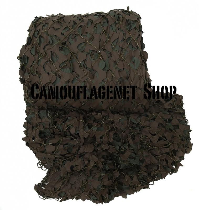 Camouflagenet met Touw 3 X 3 meter Woodland SP05GB