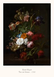Rachel Ruysch - Vaas met bloemen