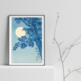 Japanse kunstposter kersenbloesem