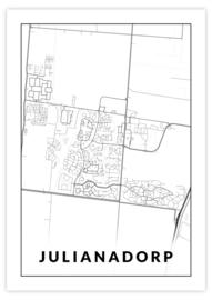 Gepersonaliseerde poster Julianadorp