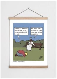 Cartoon 'Doe niet zo raar'