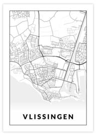 Gepersonaliseerde poster Vlissingen