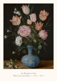 Jan Brueghel de Oude  - Wan-Li-vaas met bloemen
