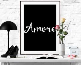 Inspiratie poster tekst Amore