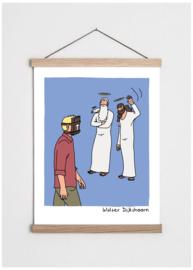 Cartoon 'Bijbelhoofd'