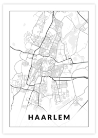 Gepersonaliseerde poster Haarlem