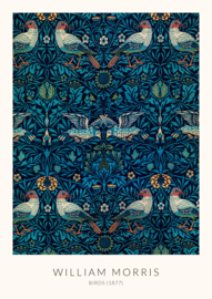 Poster William Morris - Birds (1877)