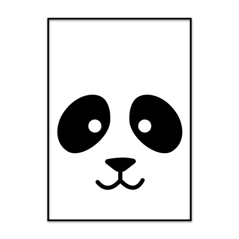Kinderkamer poster panda