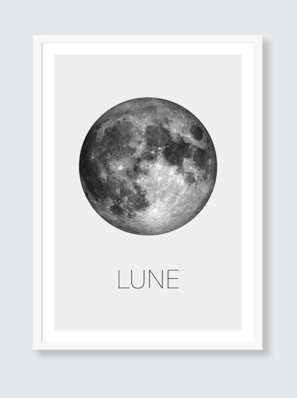 Poster Maan - Lune