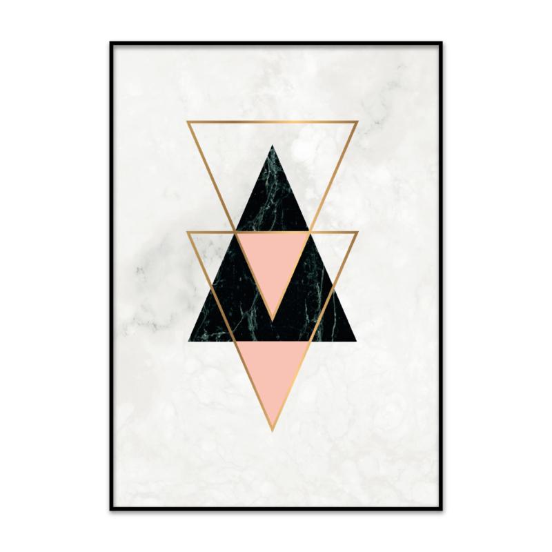 Geometrische poster
