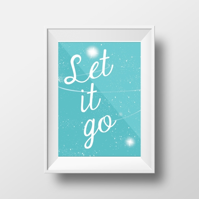 Poster Frozen let it go