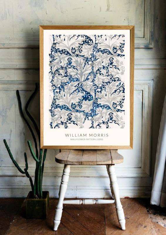Poster William Morris - Wallflower Pattern (1890)