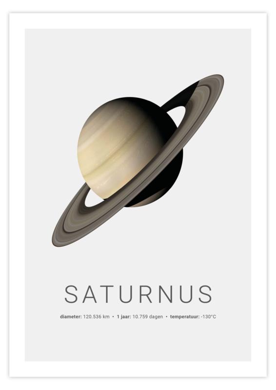 Poster van Saturnus