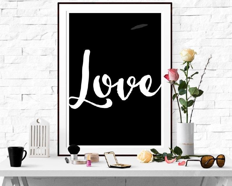 Inspiratie poster Love