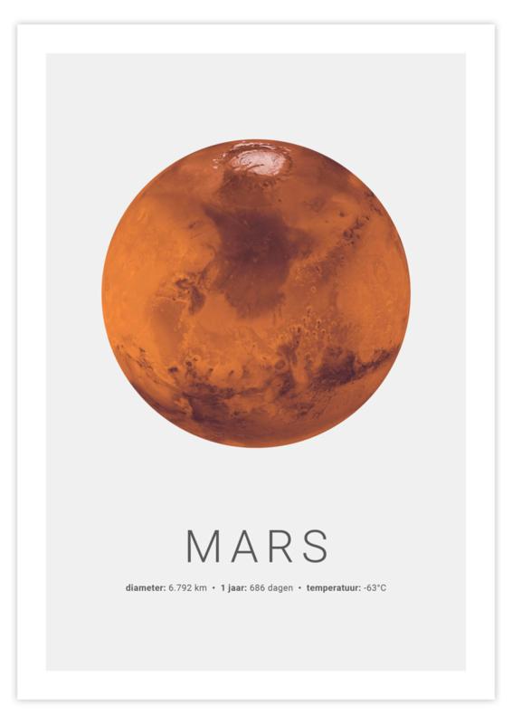 Poster van Mars
