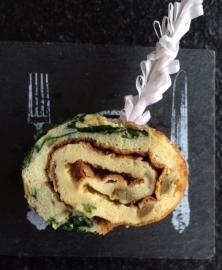 Omelet-rolletje