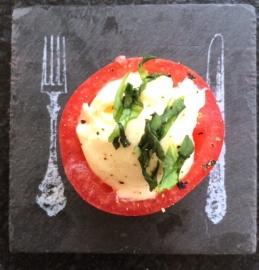 Gevuld tomaatje