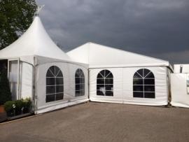 Verzorgd feest op locatie (incl tent en catering)