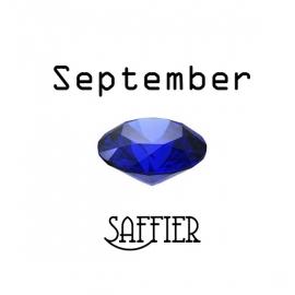 Geboortesteen September Saffier