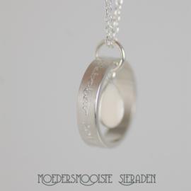 Collier Moedermelk Druppel Design