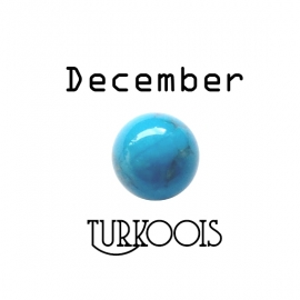 Geboortesteen December Turkoois